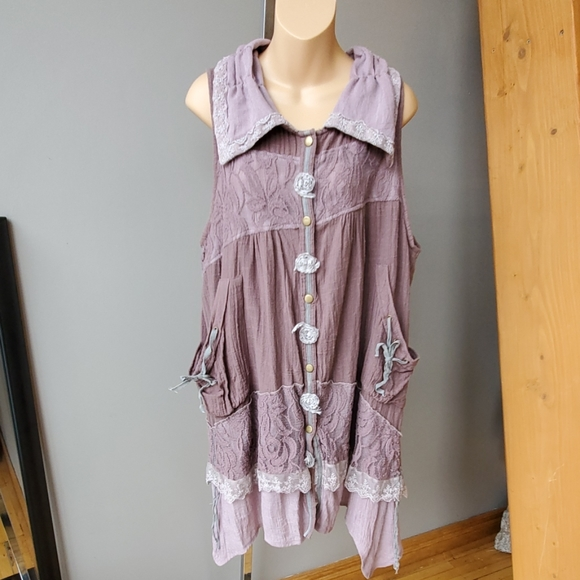 Pretty Angel Tops - Pretty Angel Boho Tunic Top